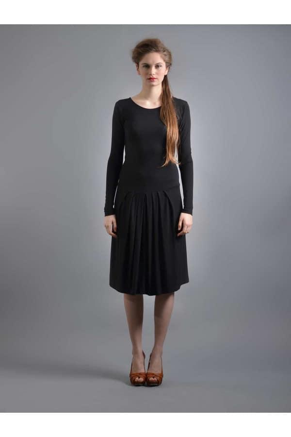 MOJE šaty černé