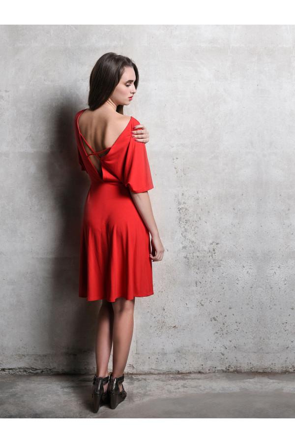 šaty červené pohádka