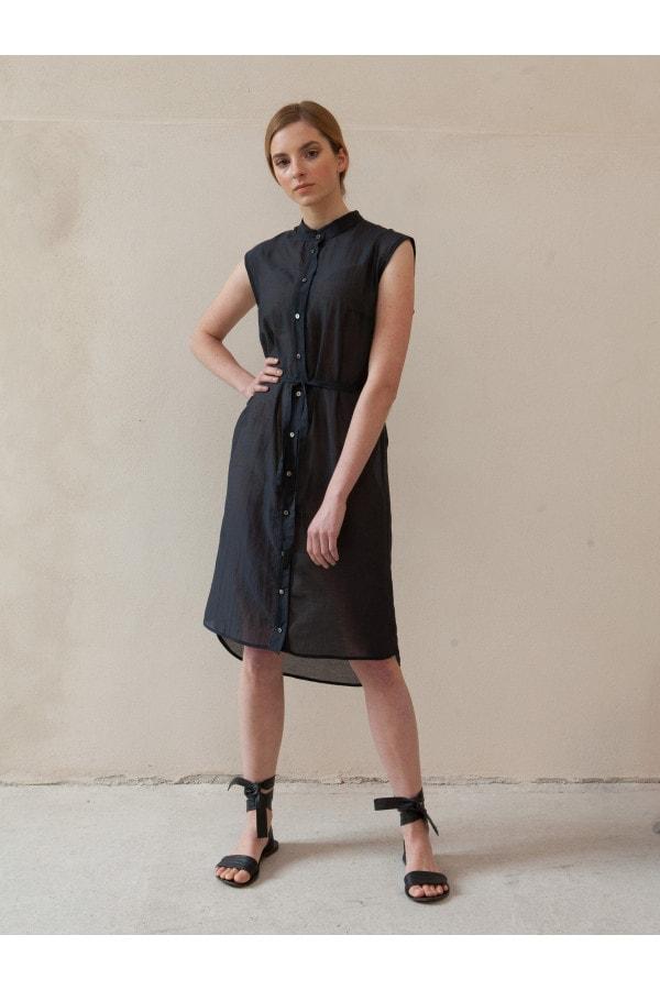 šaty propínací černé