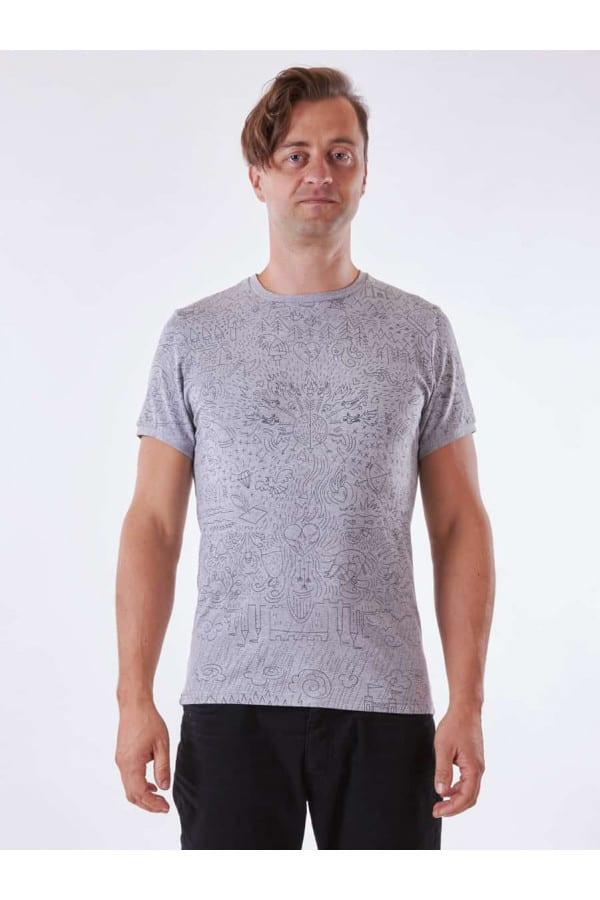 triko Pohádka šedá