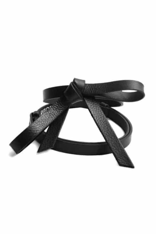 Nastavitelný pásek RUBI II - černý