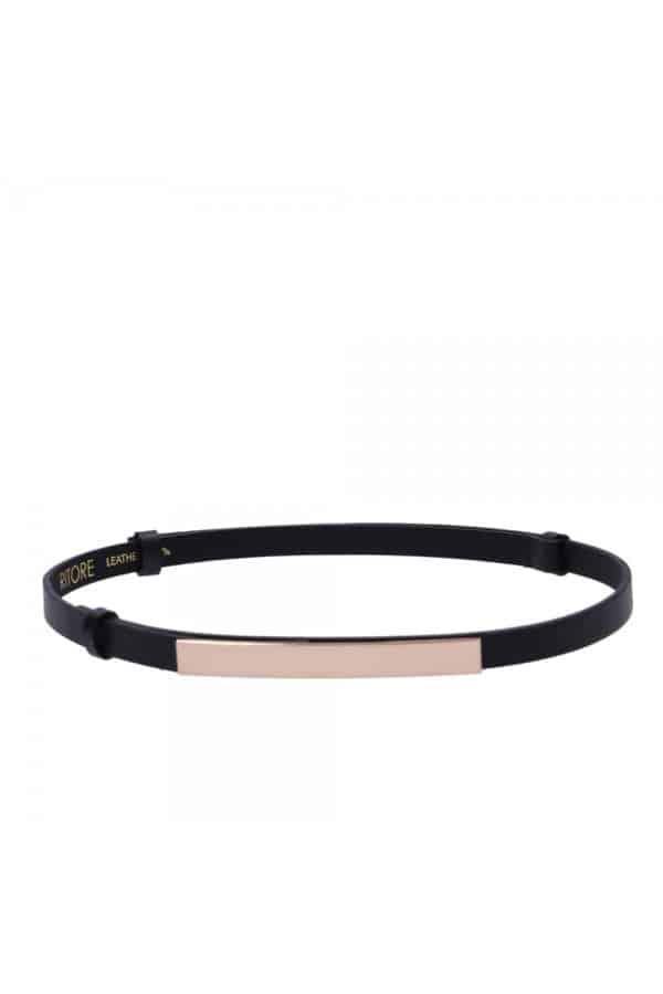 Úzký černý pásek - ARTE