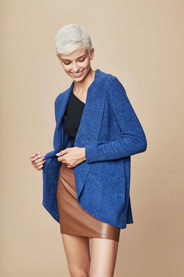 Caro Cardigan - bright blue