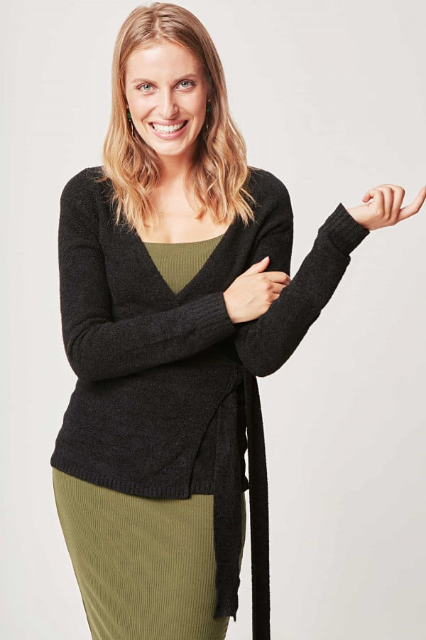 Flip Sweater - Black