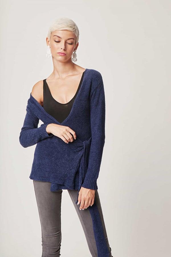 Flip Sweater - Navy