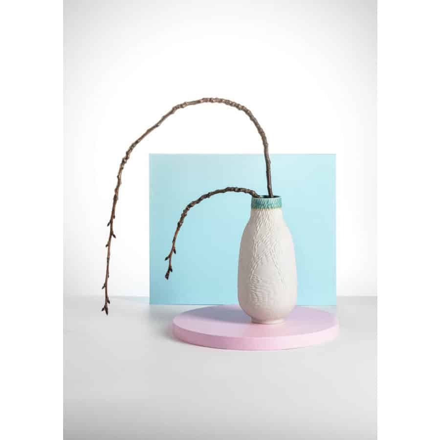 Kolekce Dekopr - váza tyrkys
