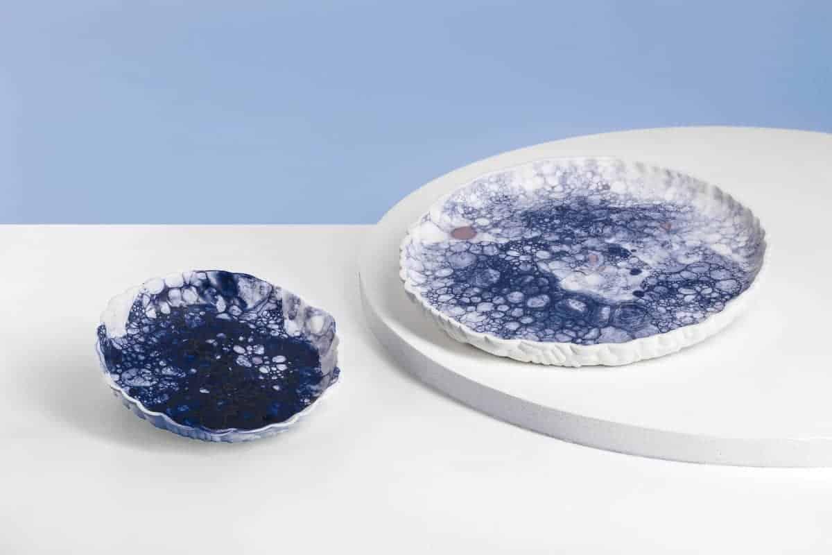 kolekce Dekopr - talíř velký kobalt
