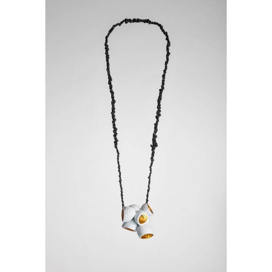 kolekce flóra - náhrdelník liči srdce