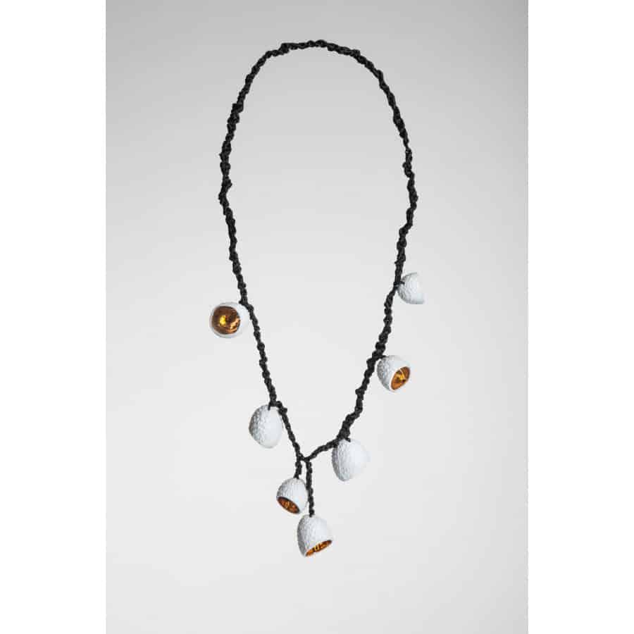 kolekce flóra - náhrdelník liči zvonečky