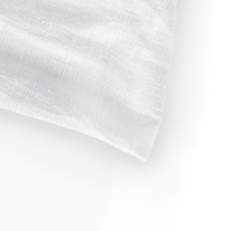 Lněné povlečení White 140x200,50x70