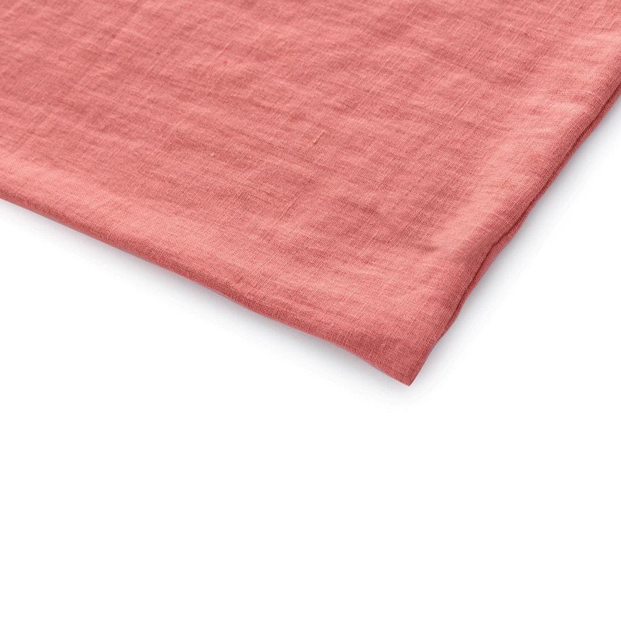 Lněné povlečení Rustikální růžové 140x200, 70x50