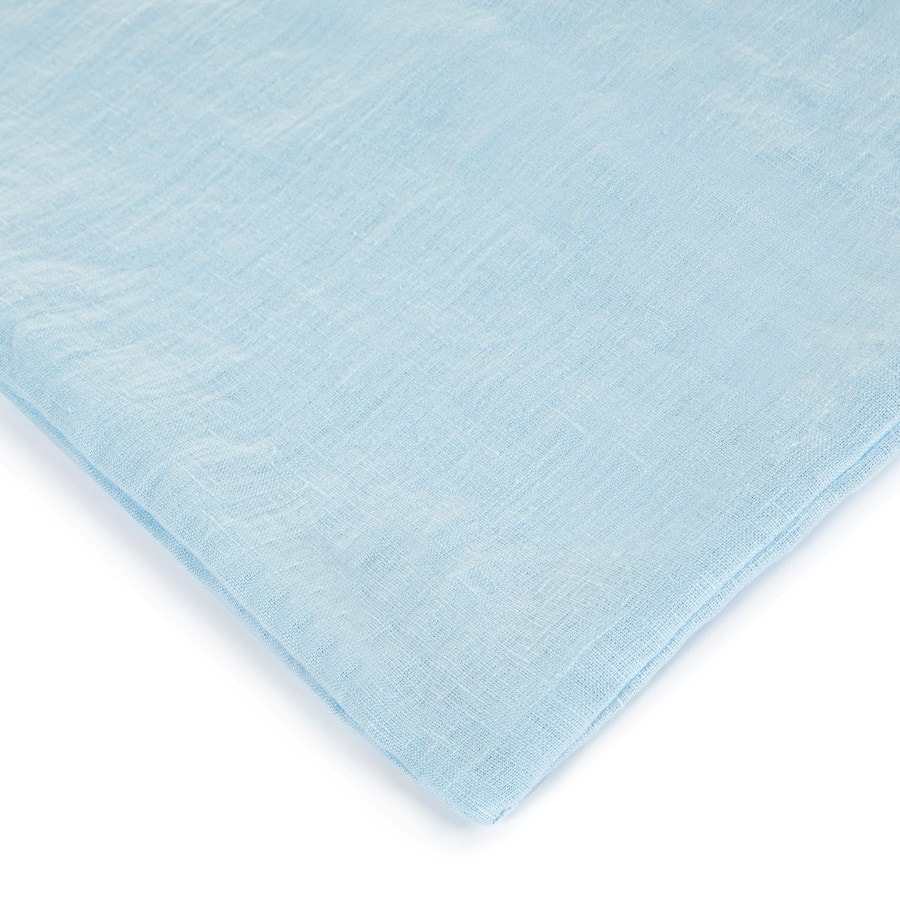 Lněné povlečení Light blue 140x200,50x70