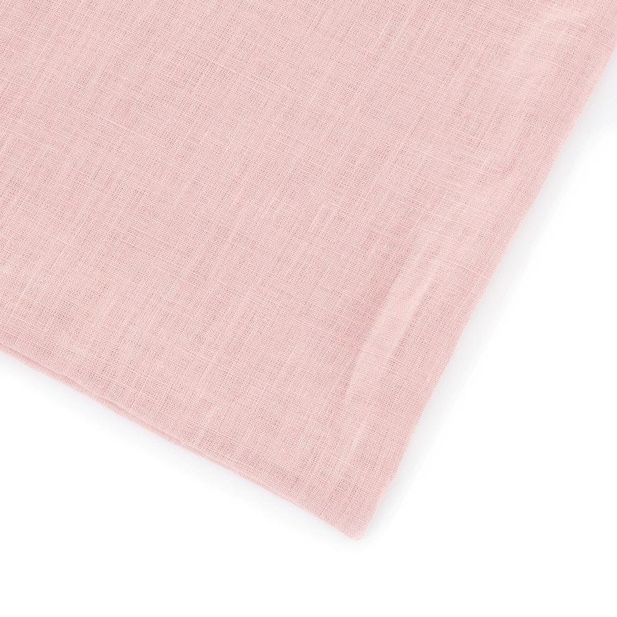 Lněné dětské povlečení Pudrově růžová 135x100, 40x60
