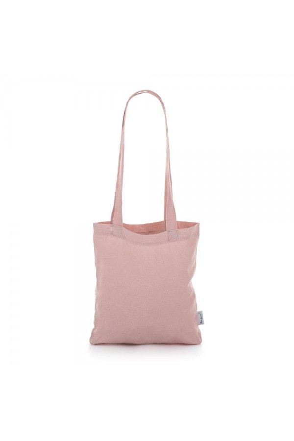 Lněná taška Pudrově růžová Tom Linen